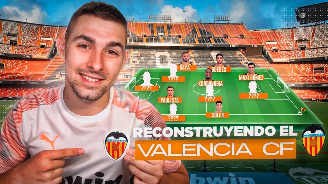 RECONSTRUYENDO el VALENCIA CF 2020/21 | Fichajes, Ventas y XI Titular