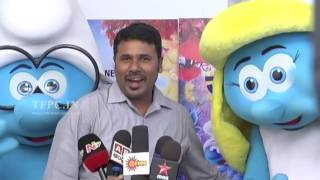 Smurfs The Lost Village Movie Press Meet Video | TFPC