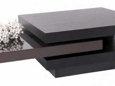 Table basse ocean marron wenge youtube - Table basse bar wenge ...