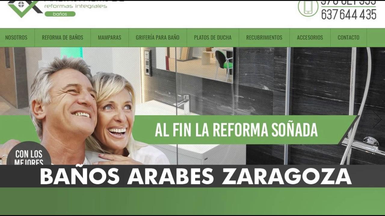 BAÑOS ARABES ZARAGOZA - YouTube