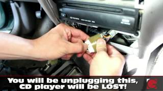 2001 2002 2003 toyota prius stereo removal and grom bluetooth android iphone usb kit installation