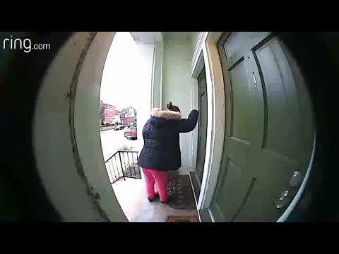 Brian Fink - Woman Pretends To Knock On Door & Ring Doorbell Before Stealing Package