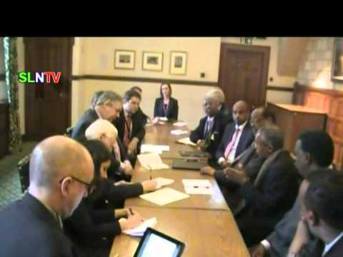 News on Somaliland's president Siilaanyo's meeting with William Hague in London