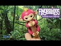 default - Fingerlings Baby Monkey - Bella - Pink (Includes Bonus Stand)