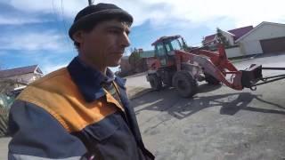 Как отмыть трактор от мазута МТЗ