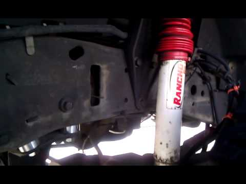 """2002 F250 Leveling Kit Install and Review 1999-2004 Leveling kit 3.0"""""""