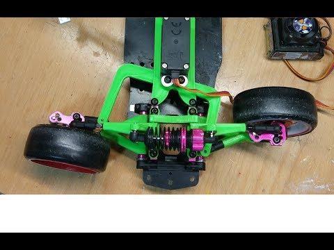Direct 3D Printed Sakura D4 RWD Steering  // Direccion RWD Sakura D4 Impresa 3D