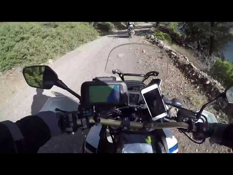 Adventure Ride in the Sierra Nevada Mountains Africa Twin
