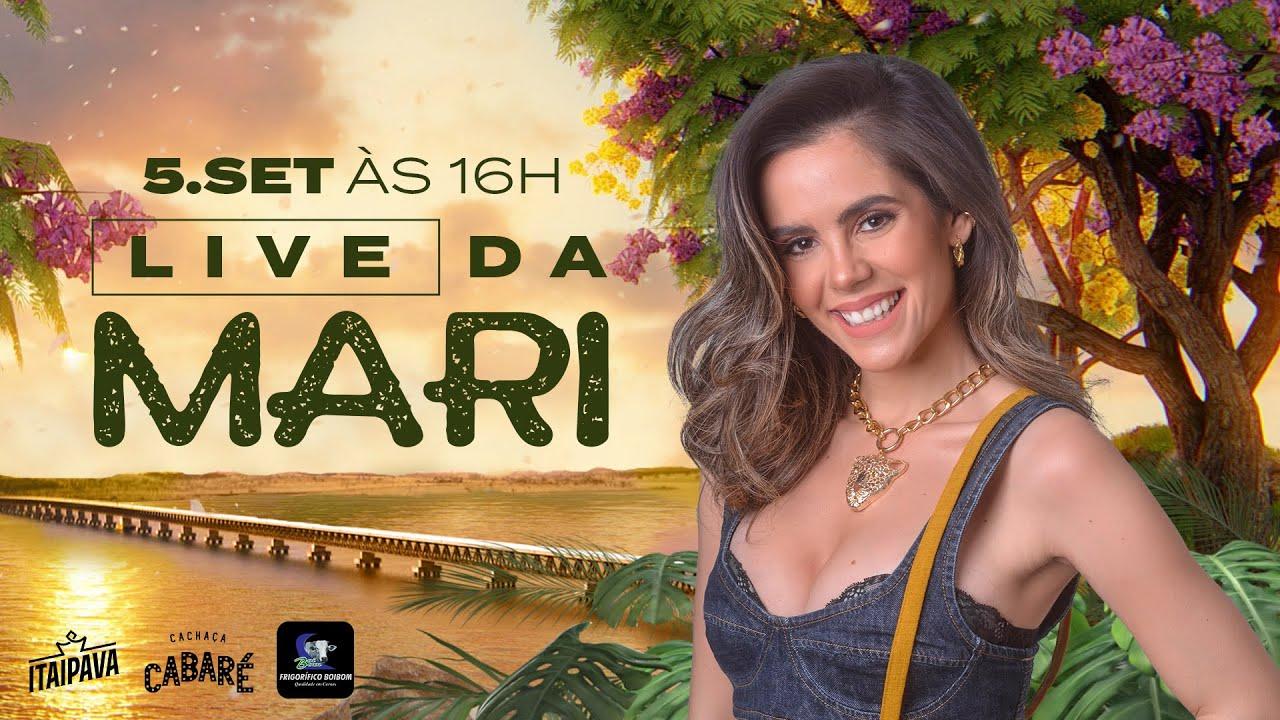 Live da Mari - Mariana Fagundes AO VIVO | Em casa #Comigo