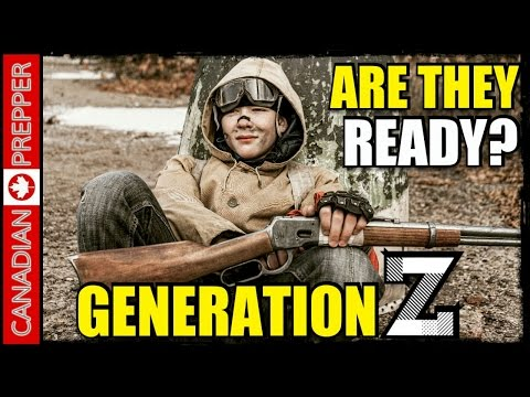 Are Millennials/ Generation Z Ready for SHTF?