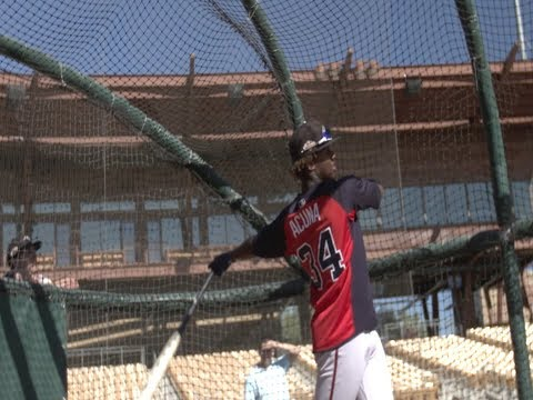 Acuna on goal to achieve Major League dream