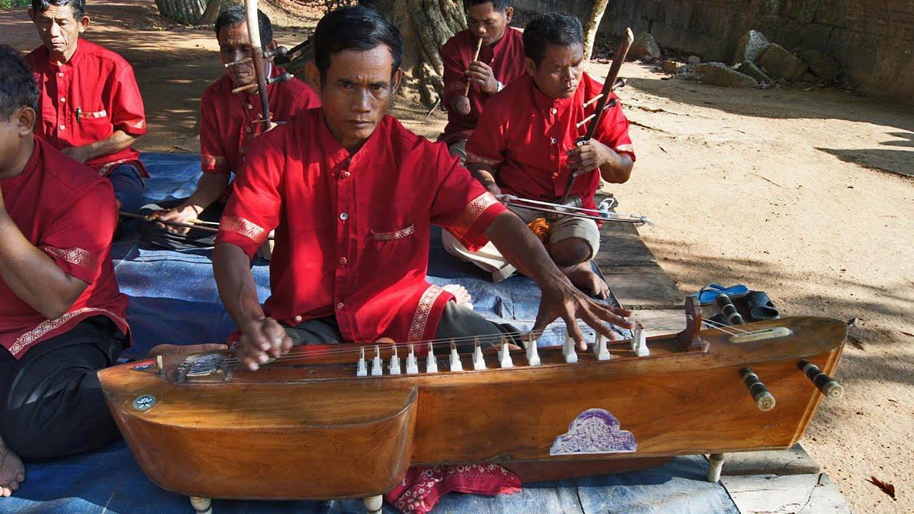 mohori orchestra – Banteay Srei temple
