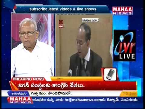 Editors Time With IVR Full Episode 12-01-15-Mahaanews