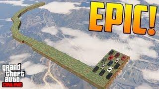 NO TIO!! POR NADA!! - Gameplay GTA 5 Online Funny Moments (Carrera GTA V PS4)