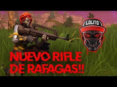 NUEVO RIFLE DE RAFAGAS *FAMAS*! 💀 ~ FORTNITE - YouTube