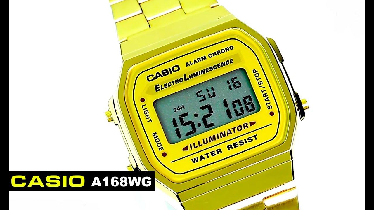A168wg Retro Casio Vintage Reloj Gold Dorado mx Comprafacil qUzVjLMGSp