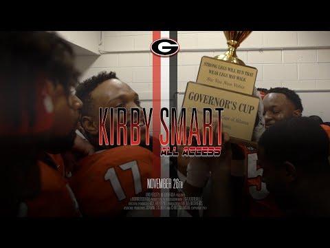 UGA Football: Ep 12 Kirby Smart All Access vs Georgia Tech: 2017