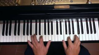 Tutorial piano y voz La distancia  ( Roberto Carlos )