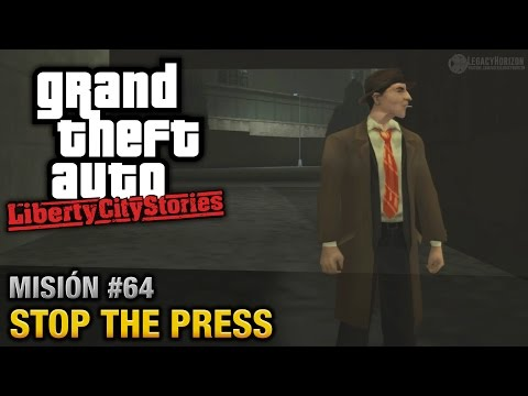 GTA Liberty City Stories - Misión #64 - Stop the Press (Español/Sin Comentario - PCSX2)