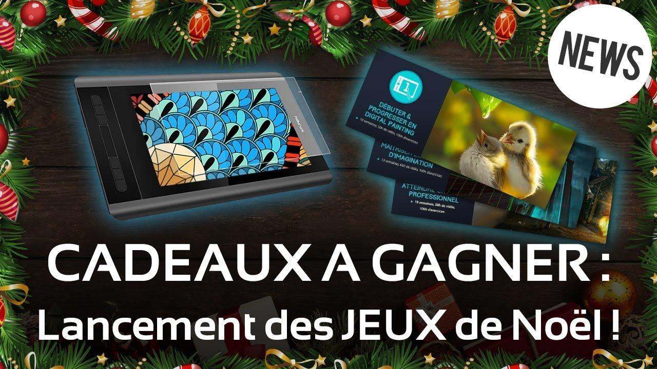CADEAUX A GAGNER : Lancement des JEUX de Noël !   YouTube