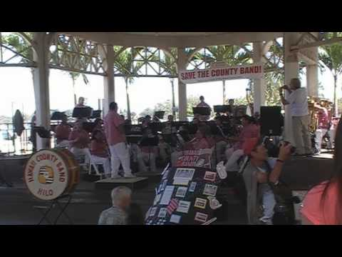 The Hawaii County Band - Hilo March
