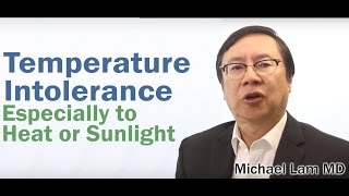 Temperature Intolerance caused by Adrenal Fatigue