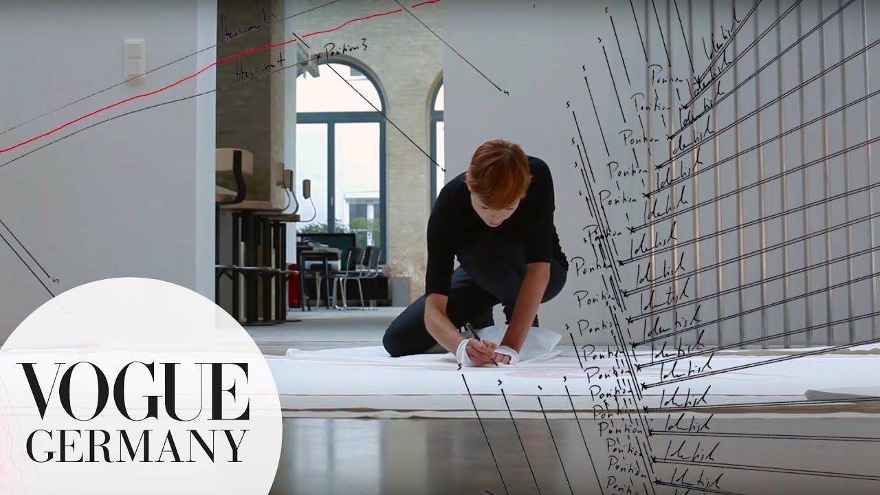 Künstlerportrait Jorinde Voigt   VOGUE Interview