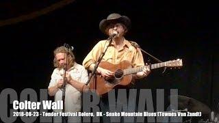 Colter Wall -  Snake Mountain Blues (Townes Van Zandt) - 2018-08-23 - Tønder Festival, DK