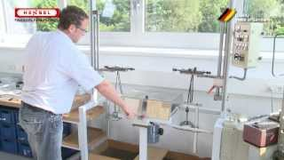 Klemmentest / Test of screw-type clamping units against loosening