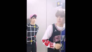 [ENGSUB] 150728 GOT7 NOW - Yugyeom feeling the rhythm! Don