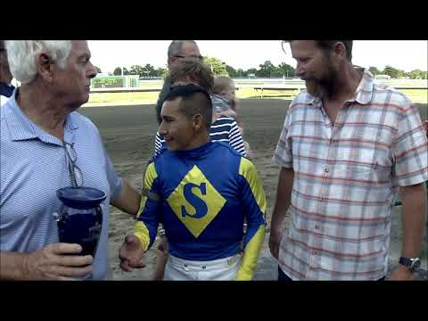 video thumbnail for MONMOUTH PARK 8-24-19 RACE 11