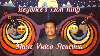 "Beyoncé - ""SPIRIT"" + ""BIGGER"" Extended Cut from Disney's The Lion King + ""BROWN SKIN GIRL"" REACTION Video"