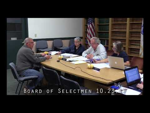 Board of Selectmen 10.23.17
