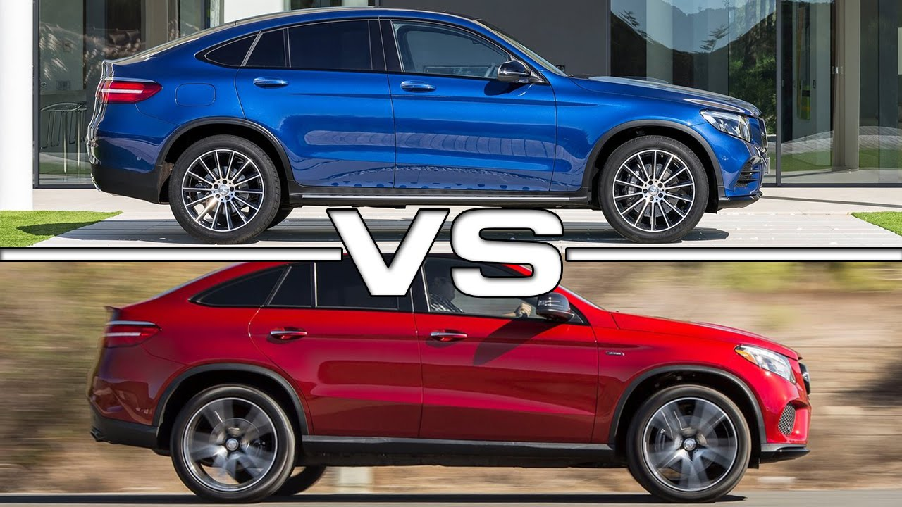 mercedes glc coupe vs mercedes gle coupe road test youtube. Black Bedroom Furniture Sets. Home Design Ideas