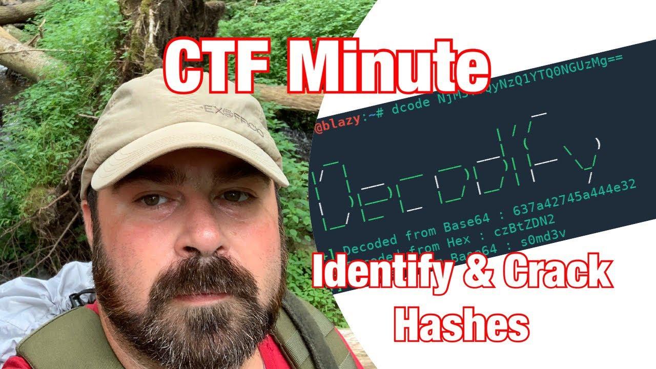 CTF Minute : Episode 1: Decodify