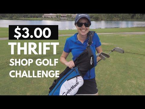 $3 THRIFT SHOP GOLF CHALLENGE (My New Favorite Club?!?!)
