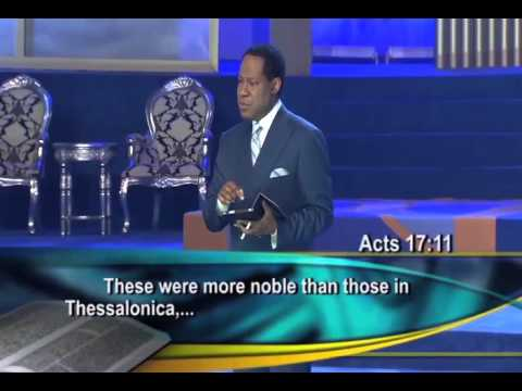 The Man The Message and The Mandate Part 1 Pastor Chris Oyakhilome, pHD