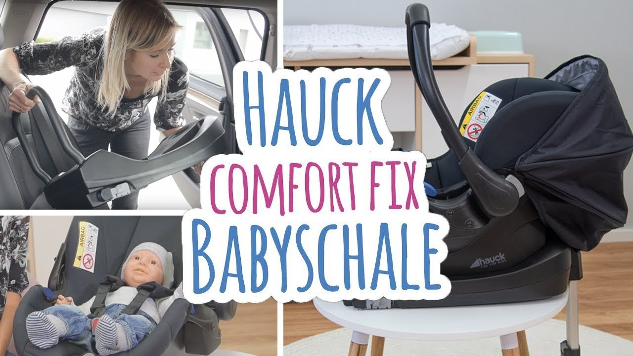 hauck comfort fix babyschale isofix basis montage. Black Bedroom Furniture Sets. Home Design Ideas