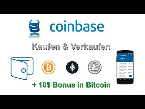 Coinbase - Teil 2: Bitcoin, Ethereum oder Litecoin Kaufen & Verkaufen