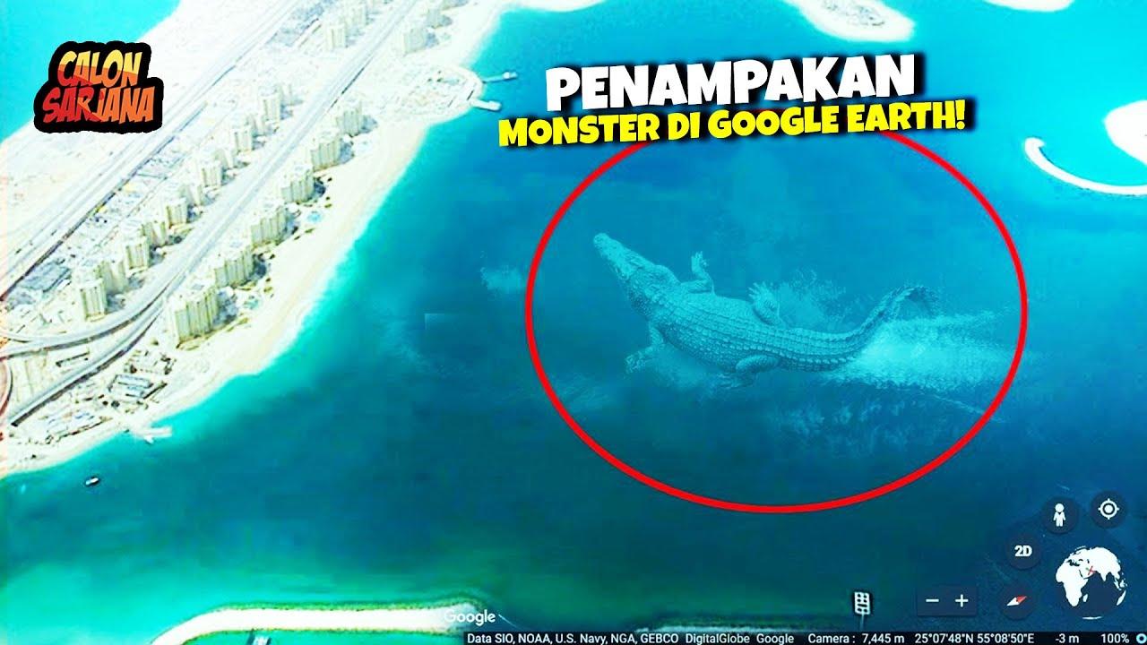 Download SEMUANYA MENGERIKAN TAPI ASLI!! Beginilah Penampakan Monster2 yang Pernah Tertangkap Google Earth!
