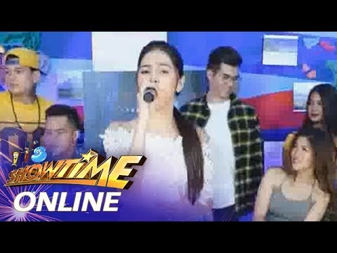 "It's Showtime Online: Marielle Montellano sings ""Talaga Ba"""
