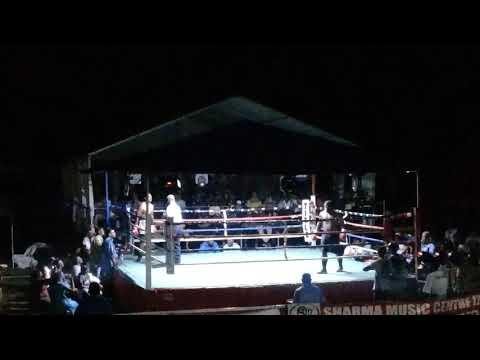 James Singh Boxer Vs Rupeni Rasaku  Heavy Weight Boxing Of Fiji🇫🇯