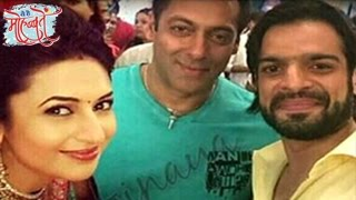 Salman Khan On The Sets OF Ye Hai Mohabbatein | EXCLUSIVE UNSEEN PICTURES