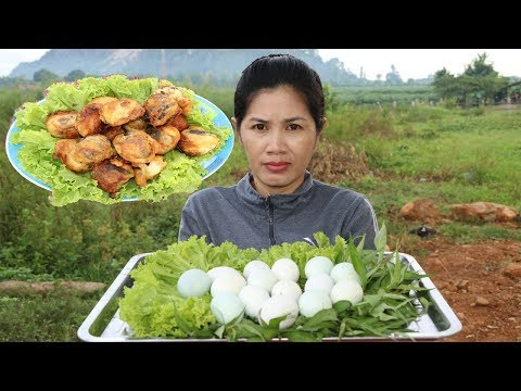 Thumbnail: Awesome Cooking Egg Fried With Vegetable Recipe - Cook Egg Recipes - Village Food Factory