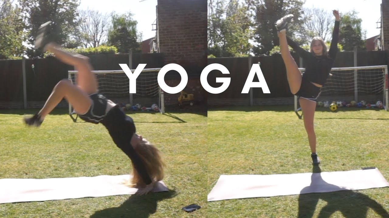 Extreme yoga challenge! (W/ special guests) - YouTube