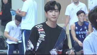 161019 B1A4 프로배구 우리카드 홈개막전 축하공연 : 이게 무슨 일이야 (진영 focus)