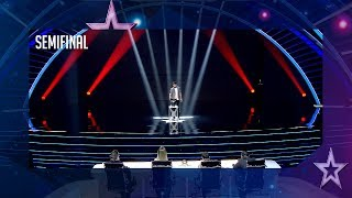 La actuación de Manuel Oliver hace llorar a Edurne | Semifinal 1 | Got Talent España 2018