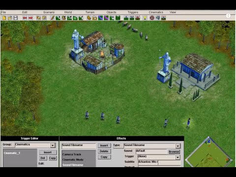 How To Create A Scenario In Age Of Mythology With Editor Mode: Advanced
