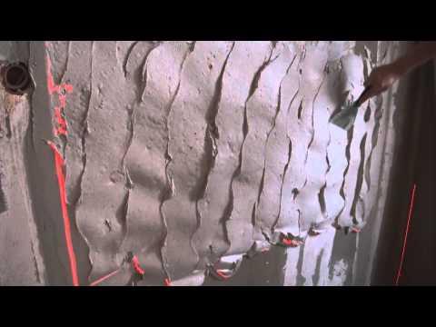 видео: Штукатурка стен своими руками. Как правильно выравнять стены по маякам.
