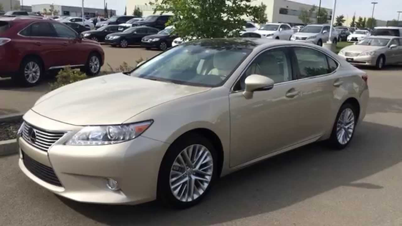 Lexus Certified Pre Owned 2013 ES 350 Gold On Parchment